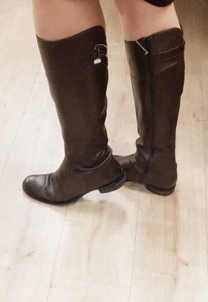 Café Noir Winter Boots dark brown