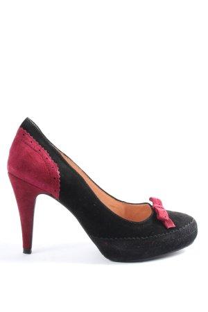 Café Noir High Heels black-pink elegant