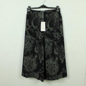 Café Noir 3/4 Length Trousers black-grey polyester