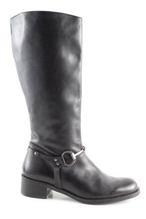 Café Noir Riding Boots black casual look