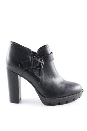Café Noir Slip-on Booties black casual look