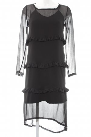 Cafènoir Blouse Dress black elegant