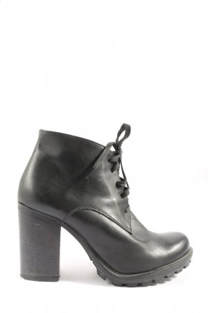 Cafènoir Booties black casual look