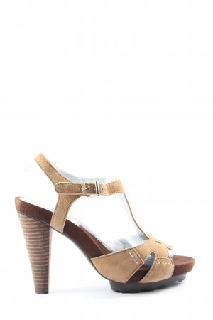 Cafènoir High Heel Sandal brown casual look