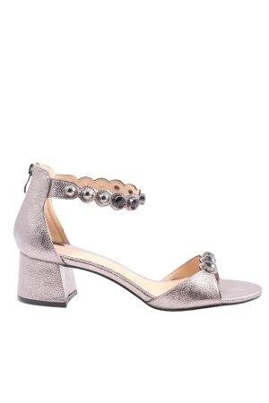 Cafènoir High Heel Sandal rose-gold-coloured wet-look