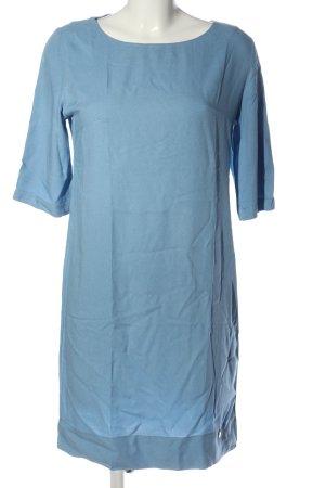 Cafènoir Sukienka mini niebieski W stylu biznesowym