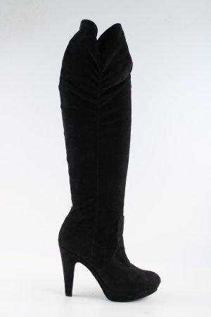 Cafènoir Overknees black casual look