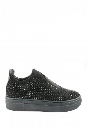 Cafènoir Sneaker slip-on nero stile casual