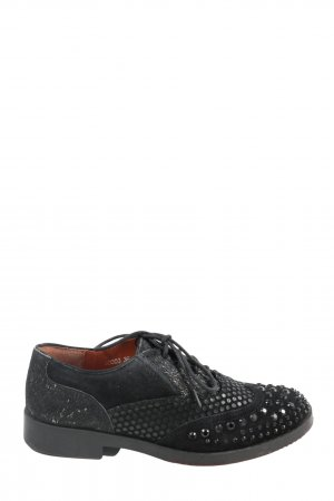 Cafènoir Lace Shoes black casual look
