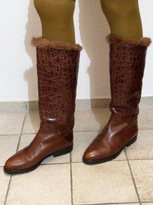 Caiman Bottes d'hiver multicolore cuir
