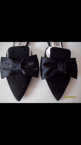 Caiman Pantoffels zwart