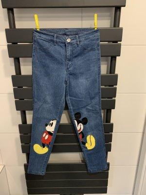 Calcedonia Skinny jeans staalblauw
