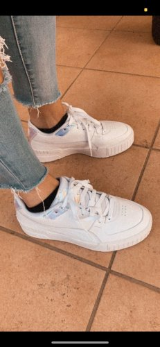 Puma Zapatilla brogue blanco