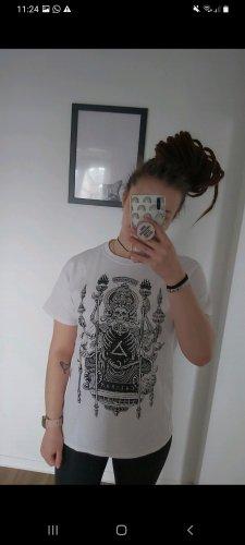 Bandshirt T-shirt bianco