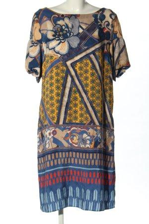 Caliban Sukienka koszulowa Abstrakcyjny wzór W stylu casual