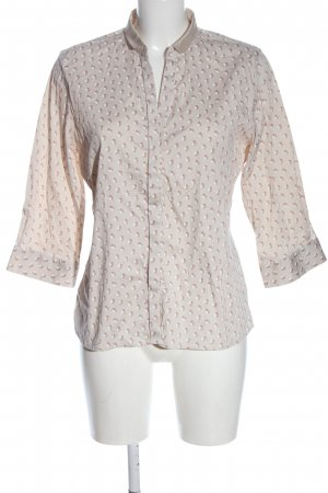 Caliban Hemd-Bluse Allover-Druck Casual-Look