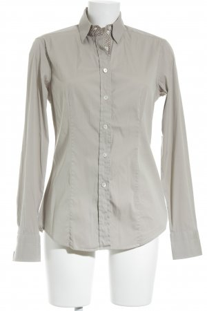 Caliban Shirt Blouse beige-brown spot pattern casual look