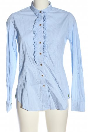 Caliban Shirt Blouse blue striped pattern casual look