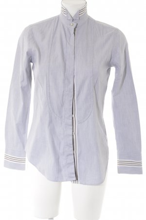 Caliban Blouse-chemisier gris clair style d'affaires