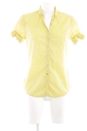 Caliban Shirt Blouse neon yellow casual look