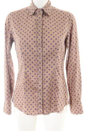 Caliban Shirt Blouse natural white-lilac spot pattern business style