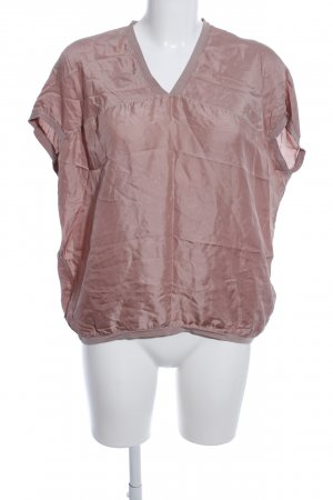Caliban Kurzarm-Bluse pink Casual-Look