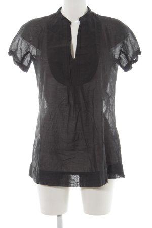 Caliban Short Sleeved Blouse black casual look
