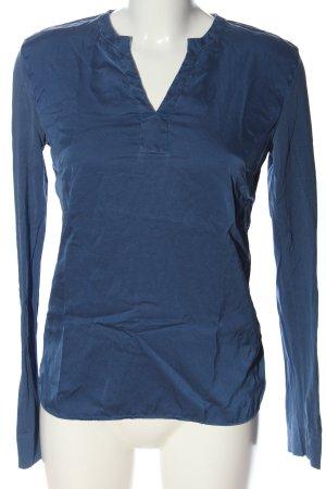 Caliban Long Sleeve Blouse blue casual look