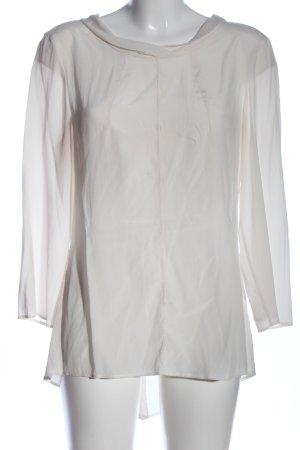 Caliban Bluzka z długim rękawem w kolorze białej wełny W stylu casual