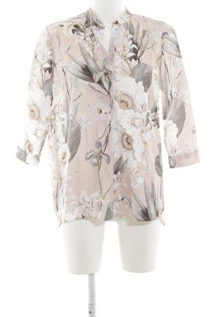 Caliban Long Sleeve Blouse flower pattern casual look