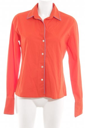 Caliban Long Sleeve Blouse red business style