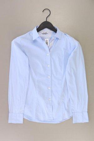 Caliban Blouse à manches longues bleu-bleu fluo-bleu foncé-bleu azur coton