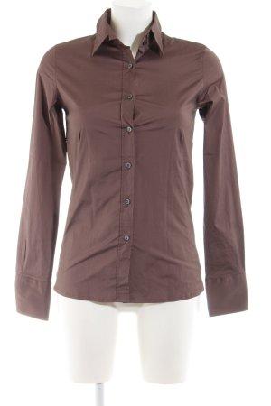 Caliban Long Sleeve Shirt brown business style