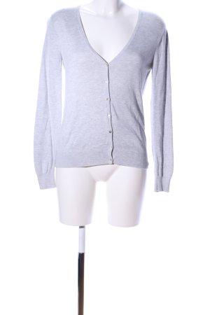 Calida Cardigan grigio chiaro puntinato stile casual