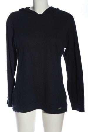 Calida Top à capuche noir style décontracté