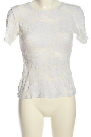 Calida Blouse met korte mouwen wit casual uitstraling