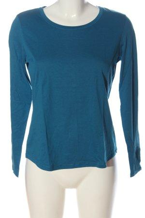 Calida Longsleeve blue flecked casual look