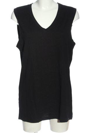 Calida Lange top zwart casual uitstraling