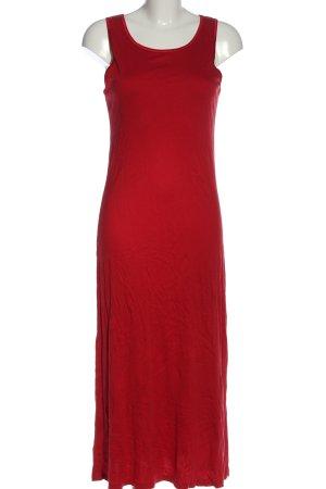 Calida Maxi-jurk rood elegant