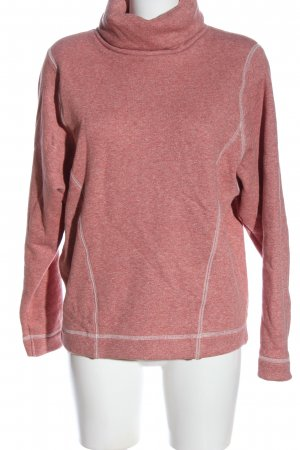 Calida Turtleneck Sweater red-white flecked casual look