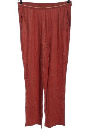 Calida Stoffen broek rood casual uitstraling