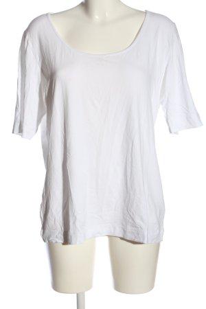Calida T-shirt wit casual uitstraling