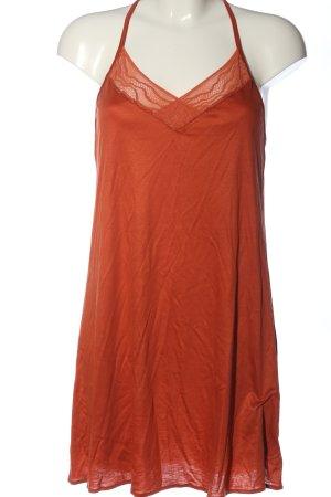 Calida Abito scamiciato arancione chiaro stile casual