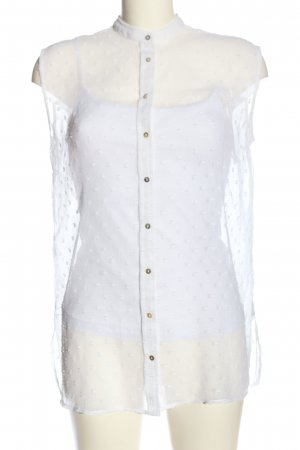Calliope Sleeveless Blouse white casual look