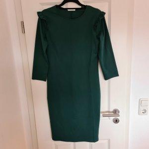 Calliope Midi Dress dark green-forest green