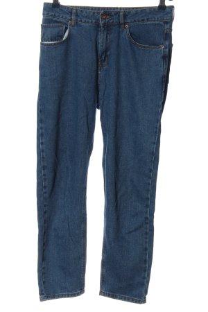 Calliope Jeans taille haute bleu style décontracté