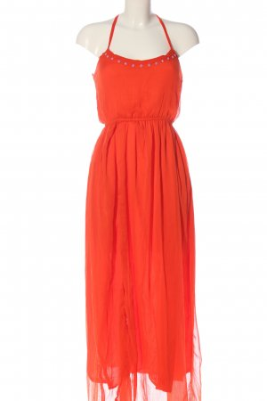 Calliope Maxi Dress red casual look