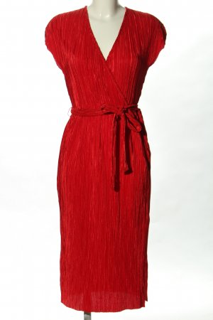 Calliope Sukienka midi czerwony Elegancki
