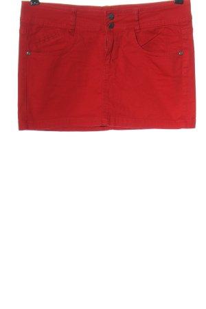 Calliope Minigonna rosso stile casual