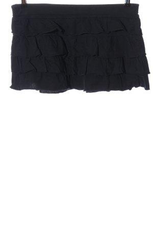 Calliope Mini-jupe bleu foncé style décontracté